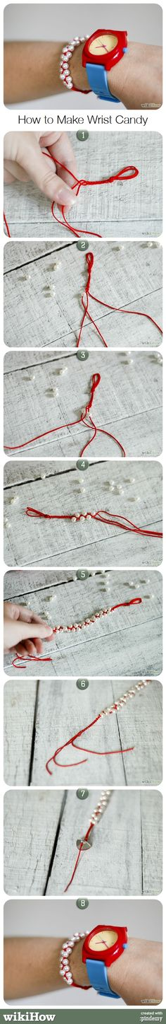 How to Make Wrist Candy #diy #crafts
