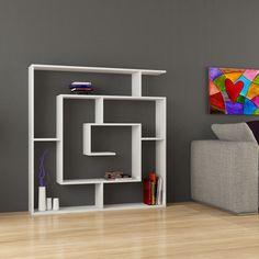 Decortie Labirent Bookcase White