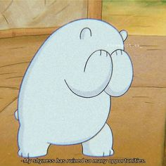 Ice Bear We Bare Bears, We Are Bears, We Bear, Cartoon Quotes, Cartoon Pics, Cute Disney Wallpaper, Cute Cartoon Wallpapers, Girly Drawings, Cool Drawings