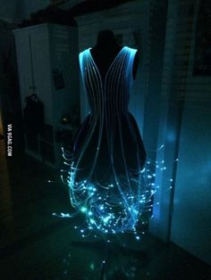 Fiber Optic Dress.
