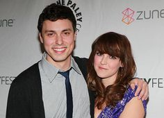 """Actors John Francis Daley and Carla Gallo attend the Paley Center for Media's PaleyFest 2011 event honoring """"Freaks & Geeks"""" and """"Undeclared"""" on March 2011 in Beverly Hills, California. Get premium, high resolution news photos at Getty Images Lance Sweets, John Francis Daley, Paley Center, Freaks And Geeks, Actor John, Bones, March, Boyfriend, It Cast"""