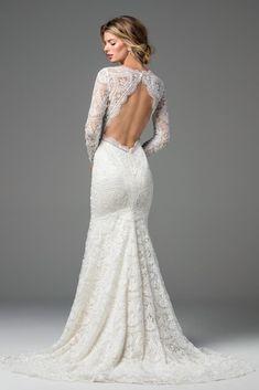 Anastasia back Wtoo Spring 2017 - The Blushing Bride boutique in Frisco, Texas