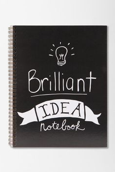 Brilliant Idea Spiral Notebook #urbanoutfitters