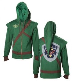 Link Cosplay Hoodie.  Kind of absolutely need this.