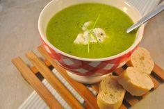 broccolisoep, lekker als lunch, voor- of bijgerecht! Met wat gerookte zalm erdoor, nog lekkerder?!