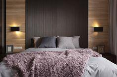 Diseño y combinación colores espaldar de cama.