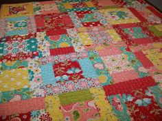 nice pattern for baby quilt.