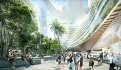 Public spaces in the Miami Innovation Distrcit will provide destinations for spending time with friends, exercising,...