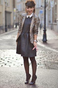 Pimkie robe escarpins IKKS Noël fête Helloitsvalentine french fashion blogger