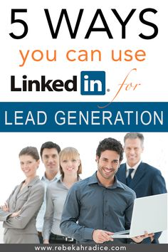 LinkedIn provides visibility, credibility and leads for business professionals. How to use LInkedIn as a lead generation tool. Digital Marketing Strategy, Marketing Tools, Business Marketing, Content Marketing, Internet Marketing, Online Marketing, Social Media Marketing, Mobile Marketing, Affiliate Marketing