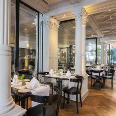 Café Luitpold im Münchener Zentrum mit sagenhaft schöner Einrichtung | creme münchen