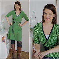 Ein grünes Kleid hatte ich noch nie und auch sonst ist grün eher unterrepräsentiert in meinem sehr vollen Kleiderschrank. Aber warum nur, frage ich mich jetzt? Ich muss zugeben, ich bin ziemlich verliebt in das Kleid.