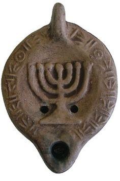 menorah        oil lamp