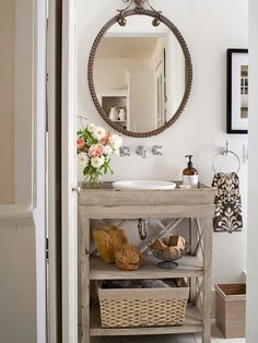 ideas and inspiration for redesign your home and bathroom mid century style or vintage style