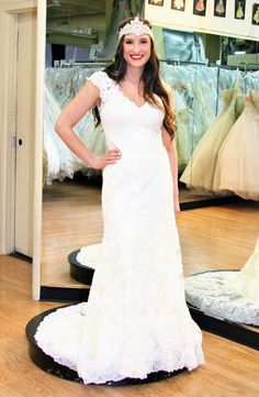 You're Going to Want All 4 Gowns Our Final Real Bride Modeled—Because She Makes Them Look THAT Good! Which Wedding Dress Is Your Favorite?: Save the Date