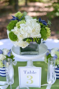 The Frosted Petticoat: Preppy Summer table