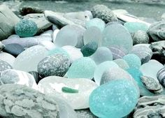 Naturally Carol: Sea Glass by the Sea Shore!