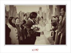Just married! Lake Michigan Mystic Blue Wedding | Robert Sojka - Chicago Wedding Photographer