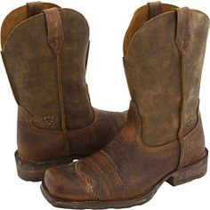 Moonshine Spirit Men's Crazy Horse Vintage Western Boots | Boot ...