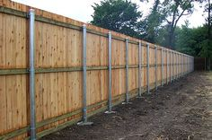 5 Dazzling Cool Tricks: Wooden Fence On Beach Front Yard Fence Diy.Wooden Fence On Beach Wooden Fence Panels 6 X Makeover Ideas. Steel Fence Posts, Wood Fence Post, Fence Art, Diy Fence, Fence Landscaping, Backyard Fences, Wood Fences, Fence Ideas, Fencing