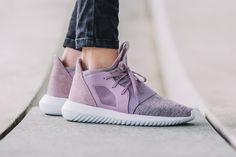 """The adidas Tubular Defiant Goes Pastel with a """"Blanch Purple"""" Rework"""
