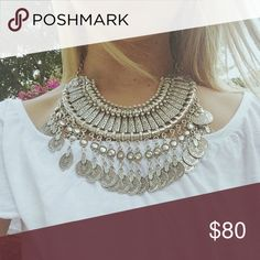 Vanessa Mooney necklace Silver boho necklace Free People Jewelry Necklaces