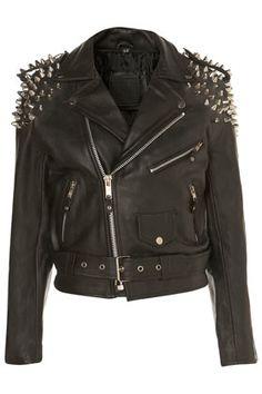**Harley Biker Jacket by The Ragged Priest - Jackets & Coats - Clothing - Topshop from TOPSHOP. Saved to Epic Wishlist. Punk Fashion, Fashion Week, Biker Fashion, Metal Fashion, Gothic Fashion, Fashion Ideas, Japanese Fashion, Korean Fashion, Top Mode