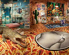maurizio cattelan + pierpaolo ferrari's TOILETPAPER paradise in NY is 'mad men on acid'