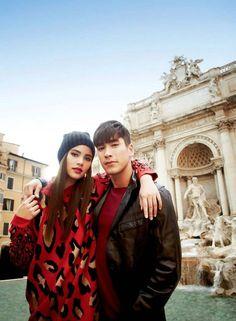 Ulzzang Couple, Sweet Couple, Actor Model, Celebs, Celebrities, Beautiful Couple, Thalia, Gossip Girl, Cute Couples