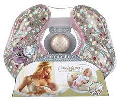 Análisis del cojín de lactancia Mombo Deluxe de Bright Starts. #lactancia #bebes #unamamanovata ❤ www.unamamanovata.com ❤
