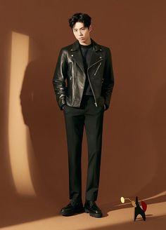others – star media :: Park Bo Gum :: Asian Boys, Asian Men, Park Go Bum, Boy Poses, Bo Gum, Asian Fashion, Korean Actors, Actors & Actresses, Leather Jacket
