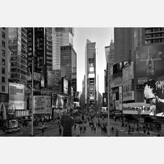Times Square by Javier Gomez