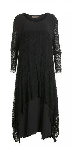 Yiannis Karitsiotis Black Layered Occasion Dress