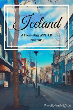 Traveling to Iceland in Winter is a great idea, as you have the opportunity to see the Northern Lights! This post will walk you through a four-day itinerary of what to do in this amazing little island. #iceland #icelandtravel #internationaltravel #Reykjavik