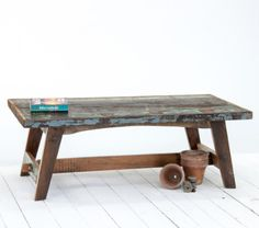 Save on our Reclaimed Driftwood Ranges in our #sale, including this stunning coffee table made from discarded timber in India.