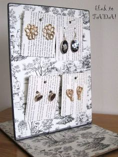 another jewelry rack idea