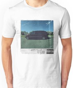 kendrick lamar cover Unisex T-Shirt Good Kid Maad City, Kendrick Lamar, Tshirt Colors, Kanye West, Album Covers, Cool Kids, V Neck T Shirt, Shirt Designs, Classic T Shirts