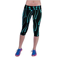 XS//XCH No Boundaries Capri Leggings , Cat Print with Flowers Assorted Colors and Sizes 1