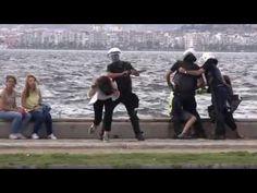 02.06.2013 İzmir Gündoğdu Meydanı polis müdahale