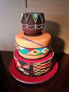 searching for suggestions in locating the beautiful fashion? Then stopover the astounding image link reference 1879548206 right now. Square Wedding Cakes, Themed Wedding Cakes, Unique Wedding Cakes, Unique Cakes, Themed Cakes, Traditional Wedding Decor, African Traditional Wedding, Traditional Cakes, African Wedding Cakes