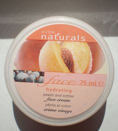 AVON:Naturals HYDRATING PEACH & COTTON Face Cream 75 ml BN FRESH