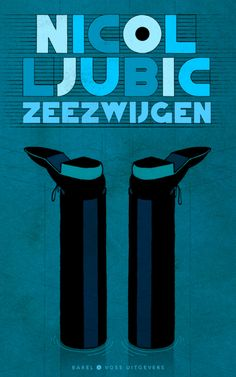 Book covers by Stefan Glerum for Babel & Voss Publishers. De Getuige by Vamba Sherif and Zeezwijgen by Nicol Ljubic. Graphic Design Illustration, Graphic Art, Illustration Art, Illustrations, Typo Logo, Typography, Lettering, Book Cover Design, Book Design