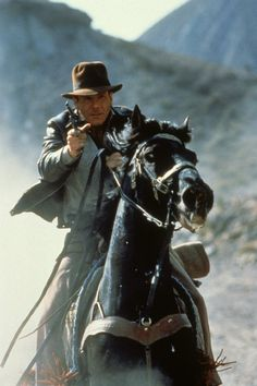 Harrison Ford in Indiana Jones and the Last Crusade