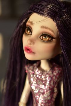 Excited to share the latest addition to my #etsy shop: OOAK monster high doll repaint, spectra vondergeist , custom art monster high doll by janasOOAKblytheDolls, dolls,collectible,art, https://etsy.me/2pJdDrc