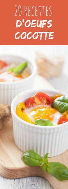 Saumon, gorgonzola, chèvre, jambon, tomates, épinards... 30 recettes faciles et rapides d'oeufs cocotte !