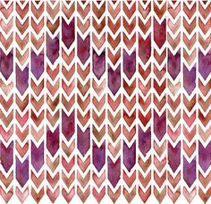 watercolor purple chevron pattern