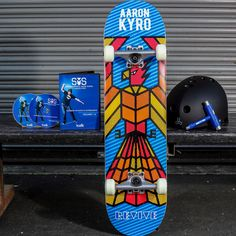 This is a complete skateboard, helmet, skate tool and the best tutorial ever made, Skateboarding Made Simple Skateboard Helmet, Complete Skateboards, Good Tutorials, Skateboarding, Make It Simple, Skateboard, Skateboards, Surfboard