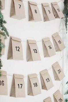 Calendario de Adviento para esta Navidad