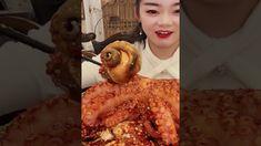 Spicy Seafood Eating Challenge🐙🔥 - Mukbang Eating Spicy Foods - Eating O... Octopus Eating, Spicy Recipes, Seafood, Challenge, Foods, Ethnic Recipes, Sea Food, Food Food, Food Items