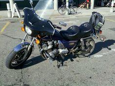 My bike since 2006, gone now to a friend. 1980 dual transmission (10 speeds) Honda CB900 Custom.